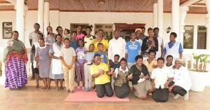 YKM Family in Rwakitura after elections-2016.